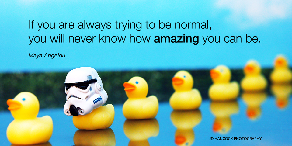 If you are always trying ...